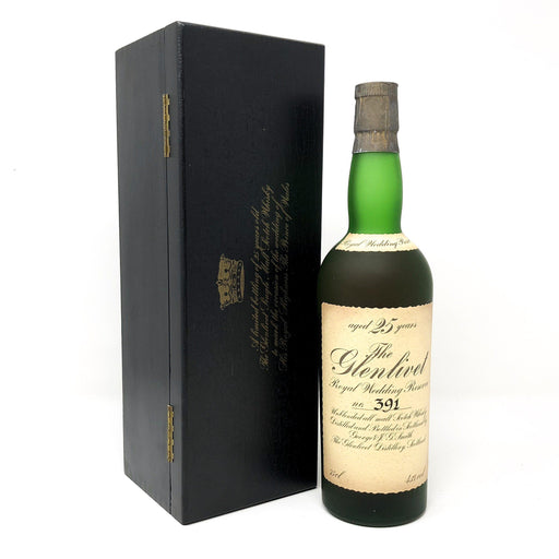 Glenlivet 25 Year Old Royal Wedding Reserve Whisky Old and Rare Whisky