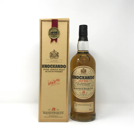 Whisky - Knockando 1976 1 Litre