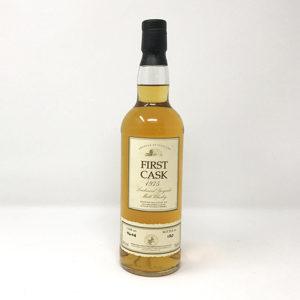 Linkwood First Cask 20 Year Old 1975 Whisky Old and Rare Whisky