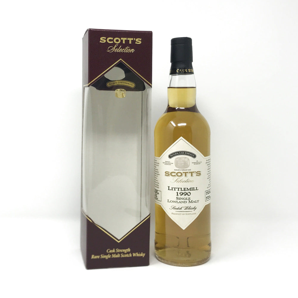 Littlemill 1990 Scott's Selection Cask Strength Whisky Old and Rare Whisky
