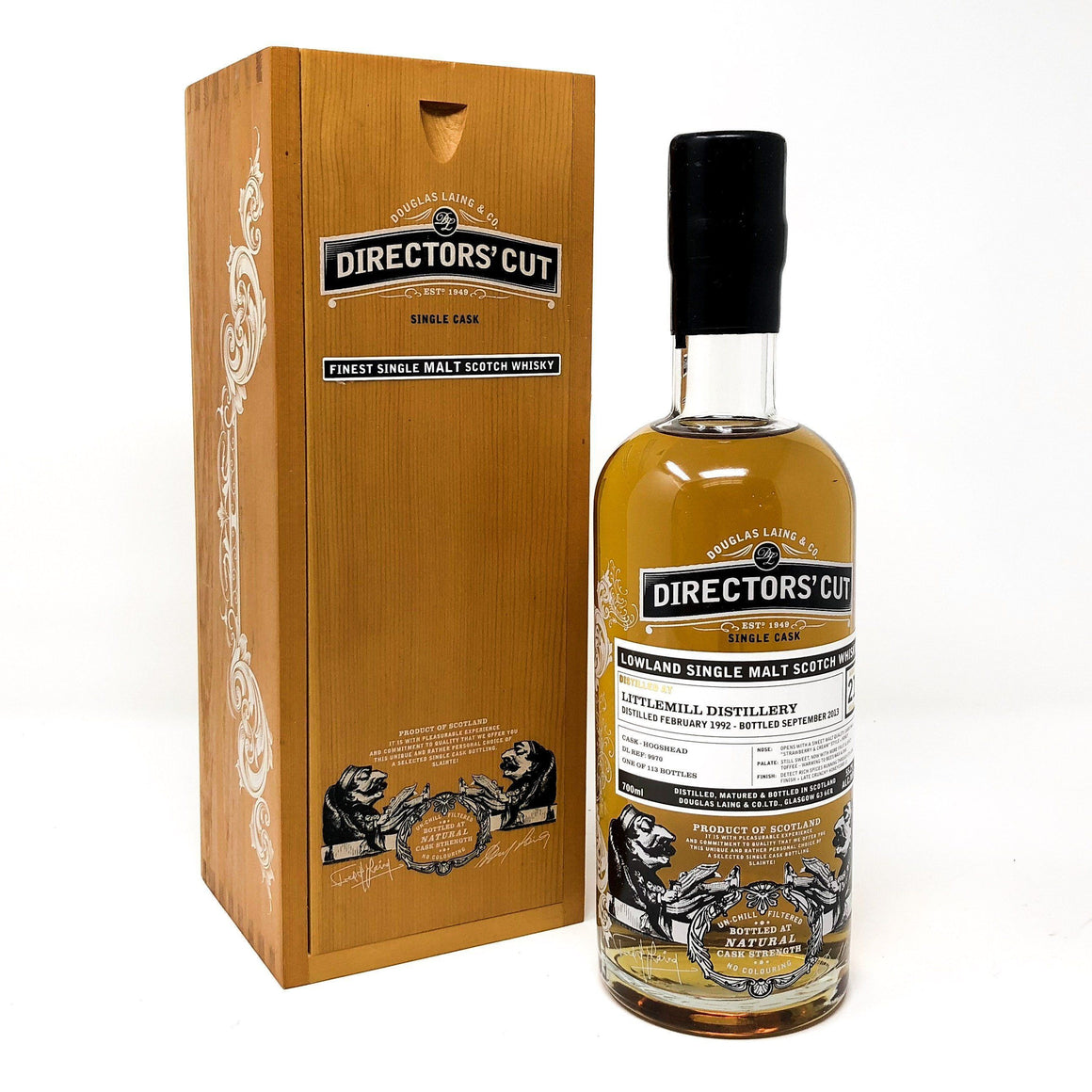 Whisky - Littlemill 21 Years Old 1992 Directors Cut
