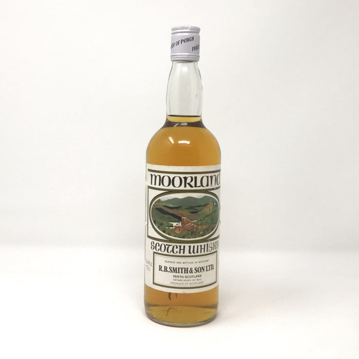 Moorland Blended Scotch Whisky Whisky Old and Rare Whisky