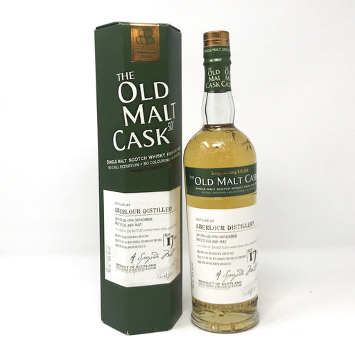 Old Malt Cask Aberlour 17 Year Old Whisky Old and Rare Whisky