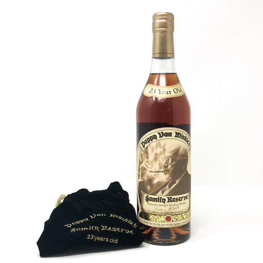 Pappy Van Winkle's 23 Year Old Family Reserve Whisky Old and Rare Whisky