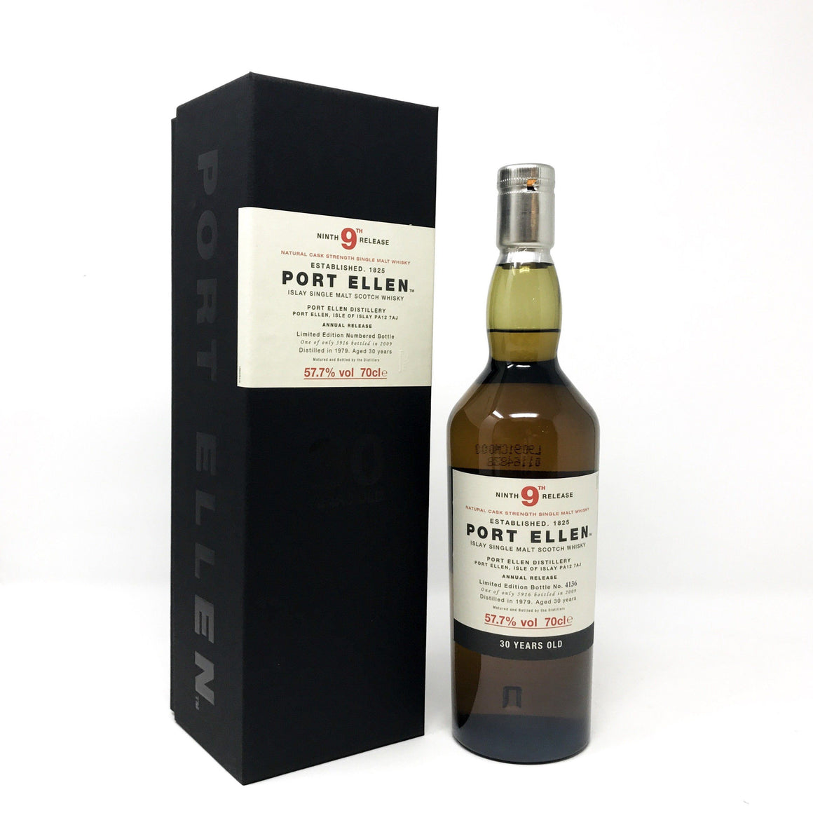 Whisky - Port Ellen 30 Year Old 9th Release