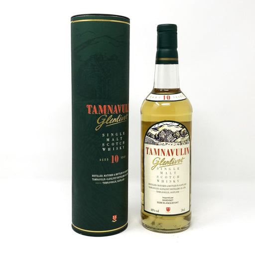 Tamnavulin Glenlivet 10 Year Old Whisky Old and Rare Whisky