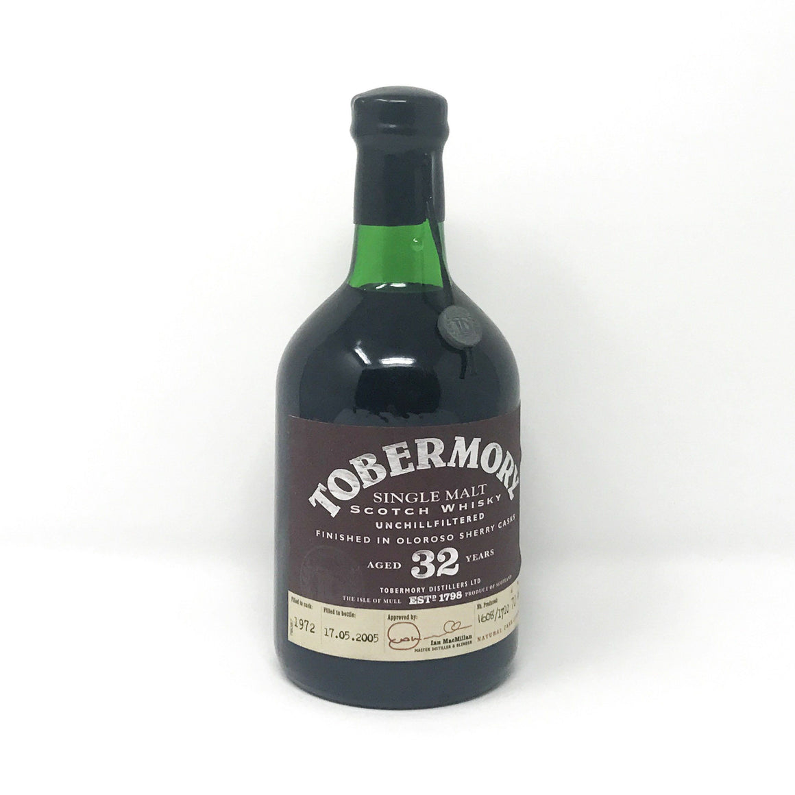 Whisky - Tobermory 32 Year Old Oloroso Finish