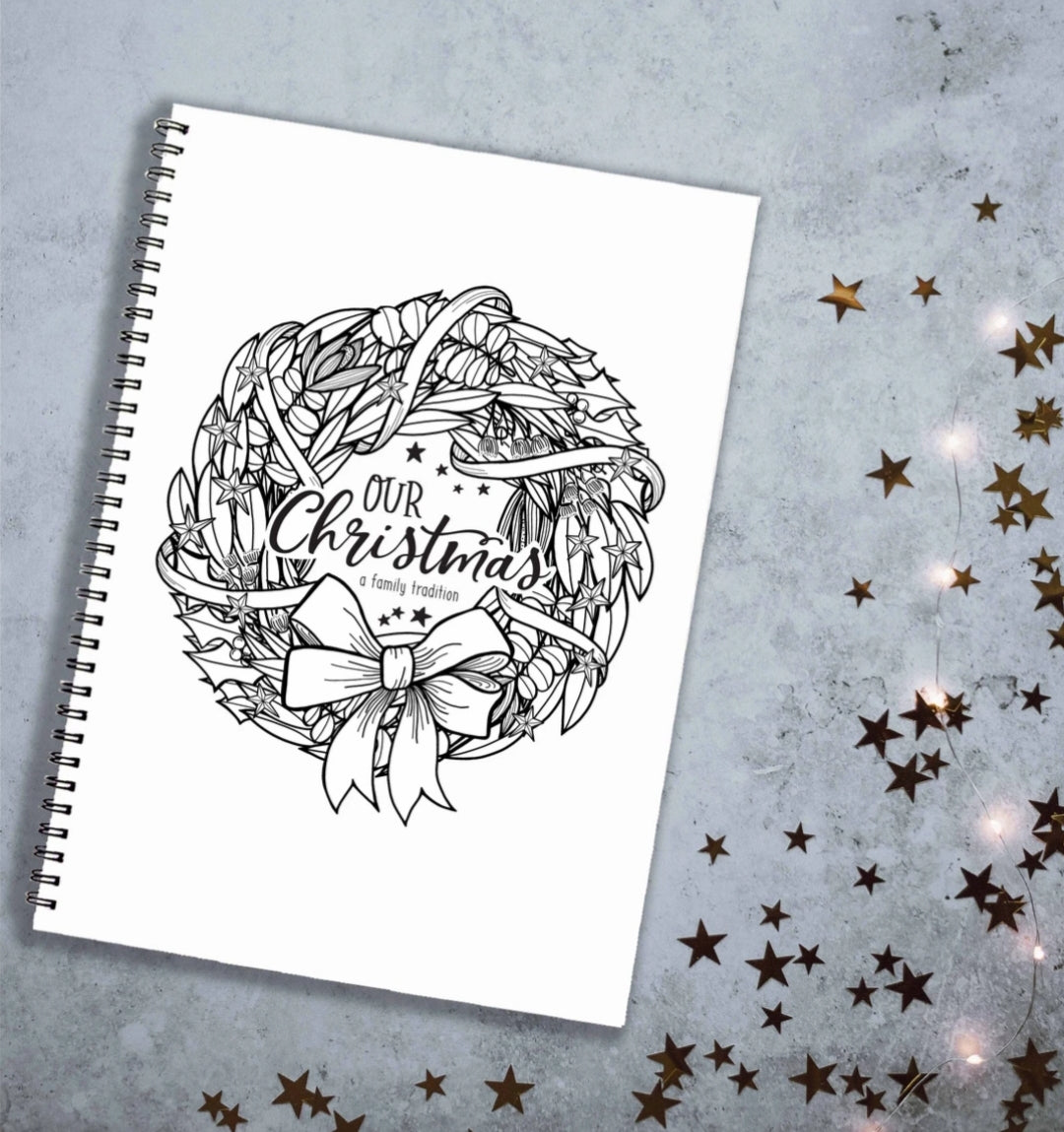 Monochrome Christmas Book