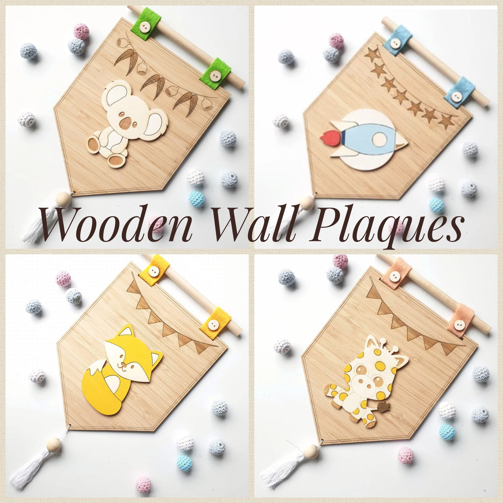 NEW!!! Handmade Wooden Wall Plaques