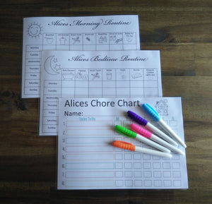 Kids routine and chore pack