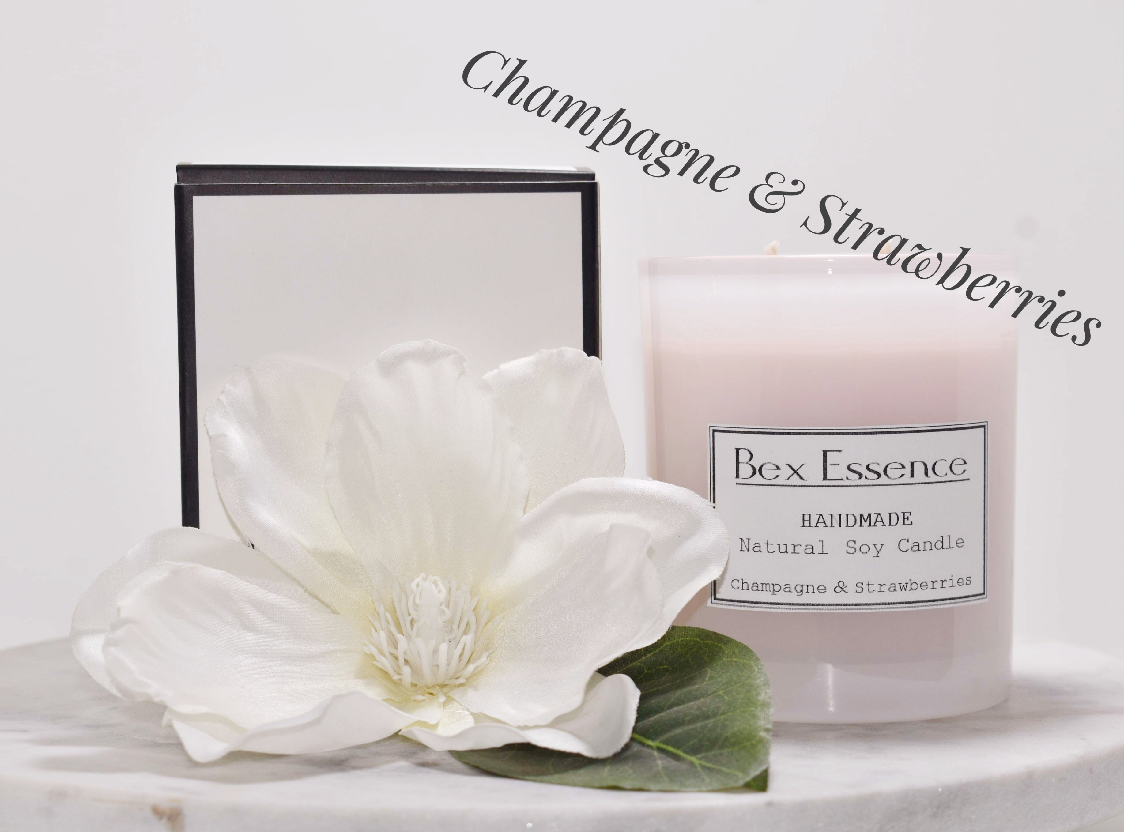 Candle - Champagne & Strawberries