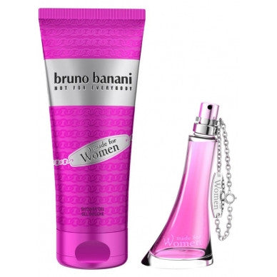 Bruno Banani Made For Woman GIFT SET EDT  1.3 oz/40 ML + shower gel 5.0 oz/150 ml GIFT!