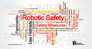 Safety essentials for robotics experiments