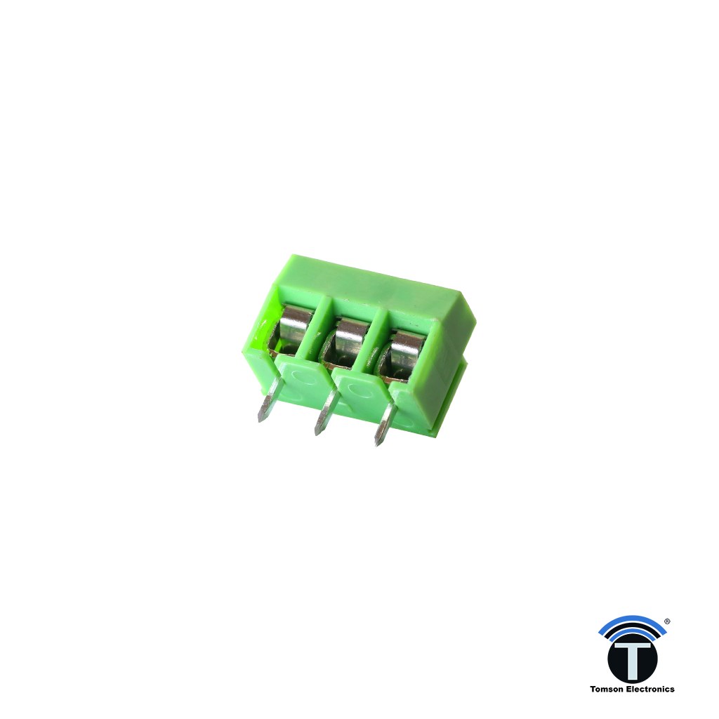 3 Pin Pcb Mount Screw Terminal Block Connectors - 126