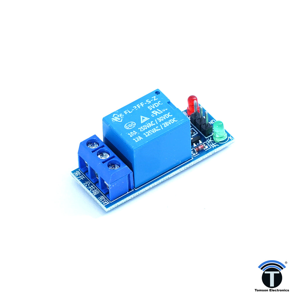 5V 1 Channel Relay Board Without Protection