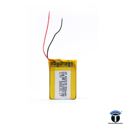 3.7V 500mAh Rechargeable Lithium Lipo Battery for RC Quadcopter