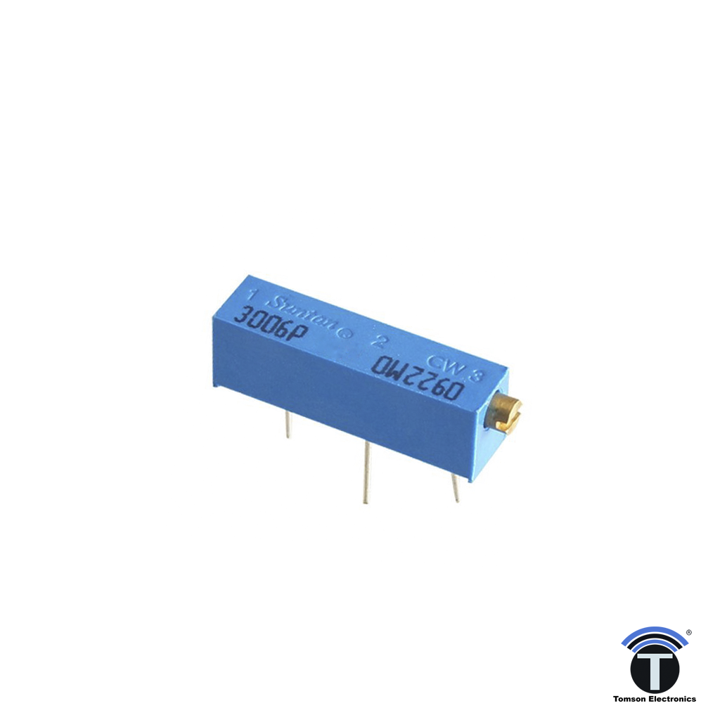 Trimpot Variable Resistor 3006 Tomson Electronics Circuit