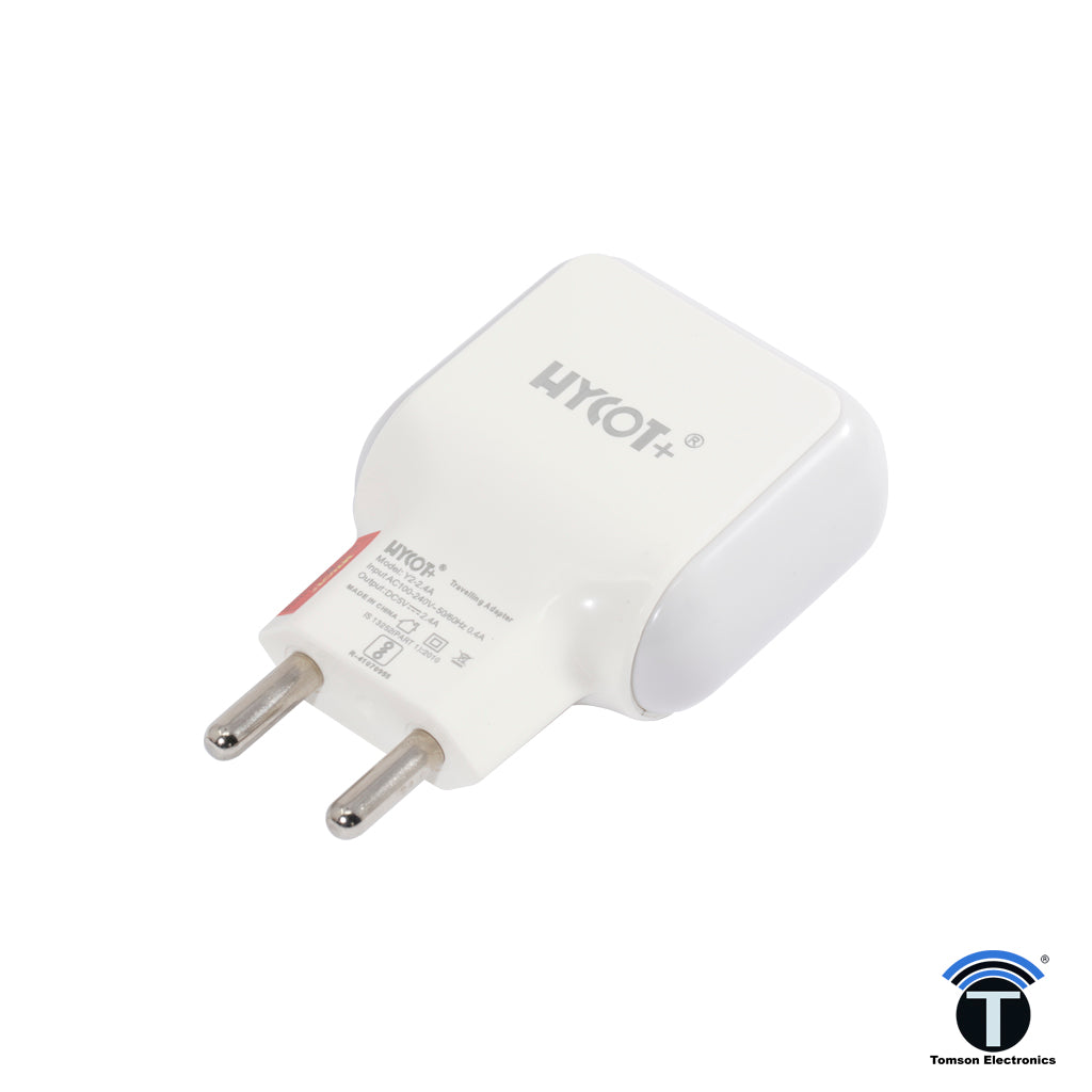 5V 2.4A USB Adapter HYCOT+