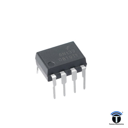 6N139 is a 8-pin 1-channel Current Loop Driver