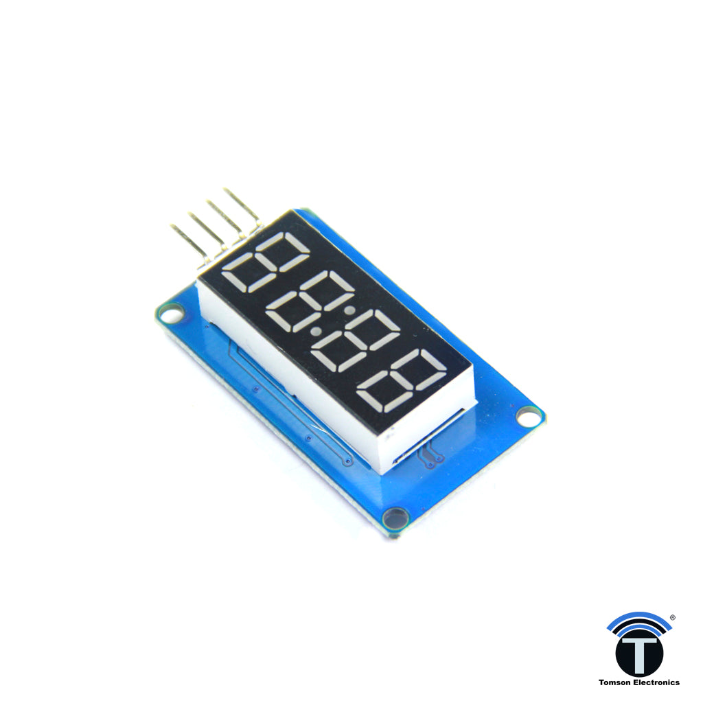 4 Digit I2C 7 Segment Display Module