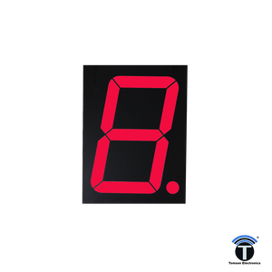 4 Inch 7 Segment Display Bright Red C/C