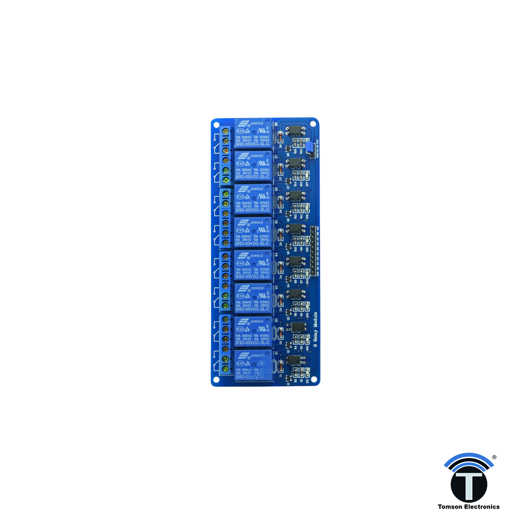 8 Channel 12V 10A Relay Board Module