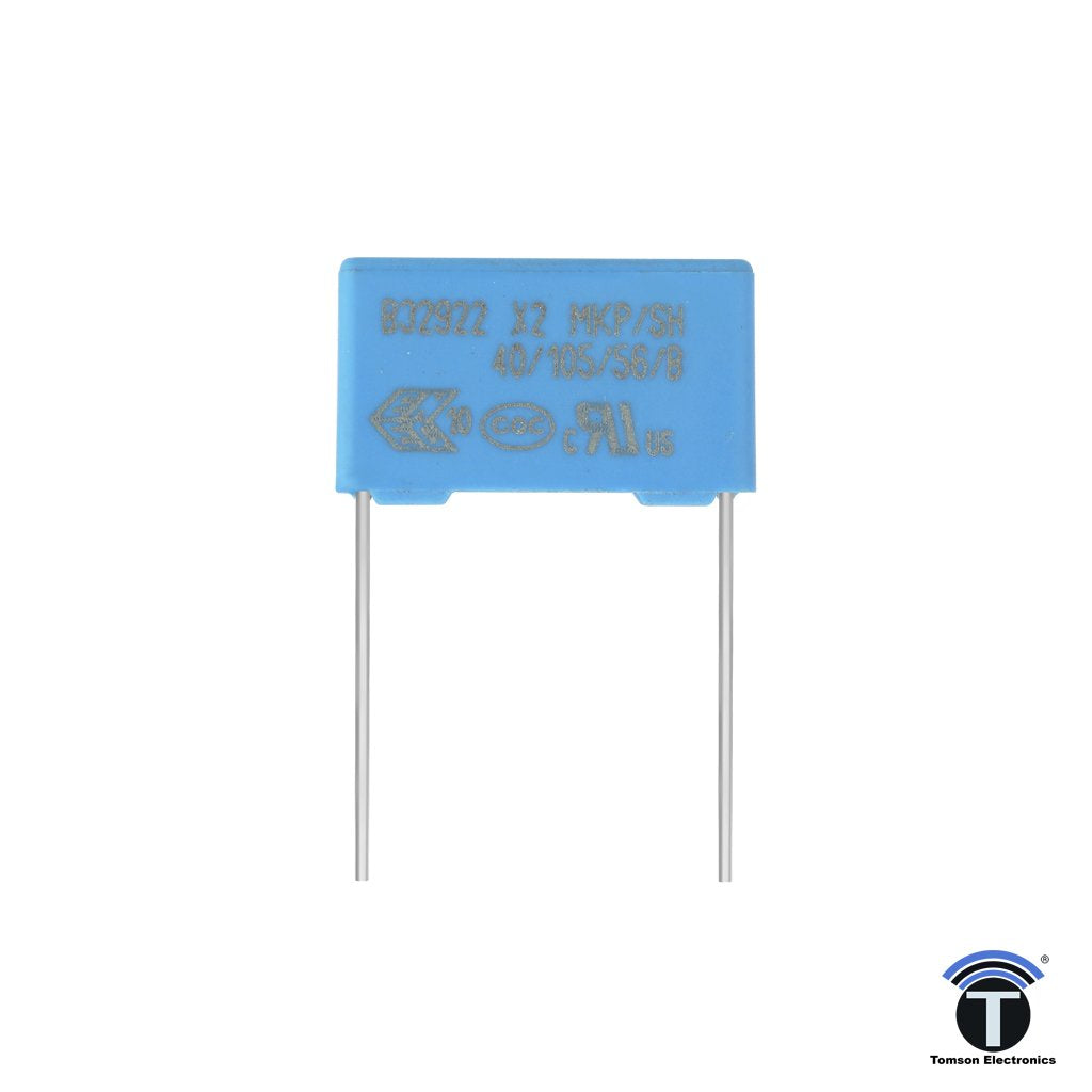 0.1uF 305V AC Metallized Polypropylene Film Capacitor