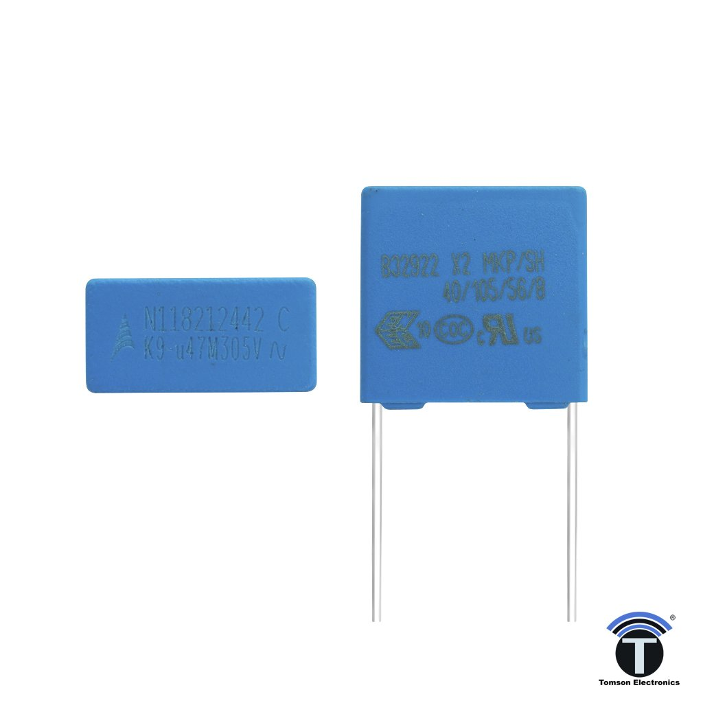 0.47uF 305V AC Metallized Polypropylene Film Capacitor