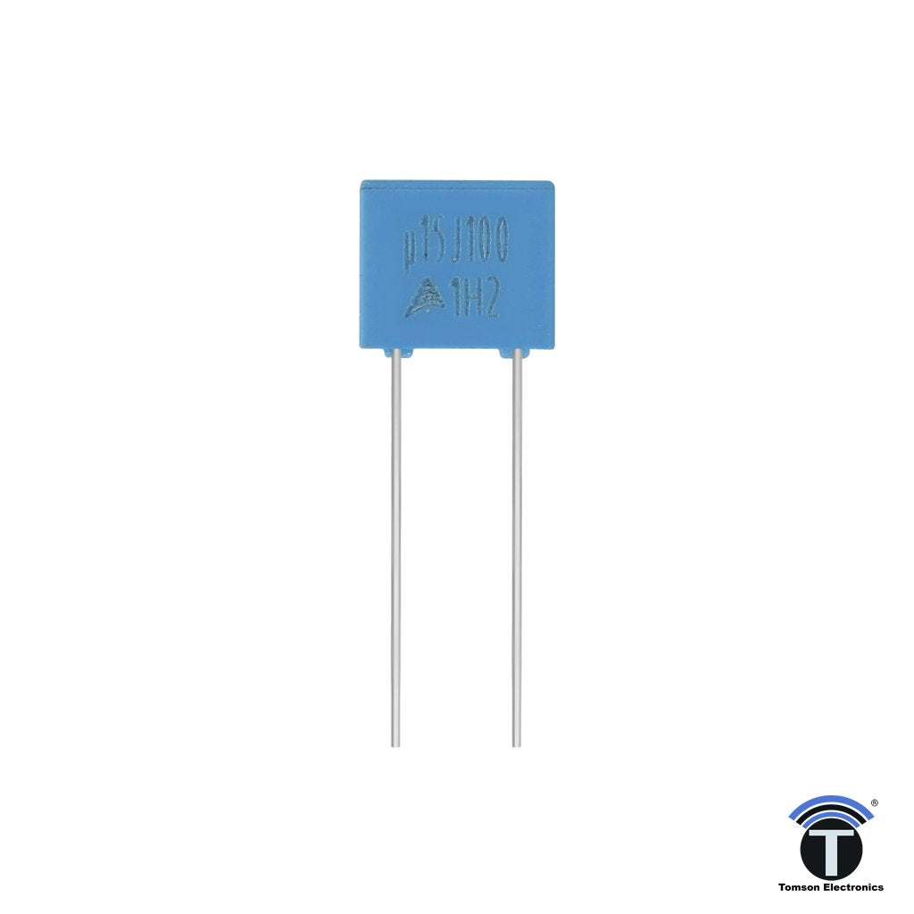 0.15uF 150nF 100V Metallized Polyester Film Capacitor