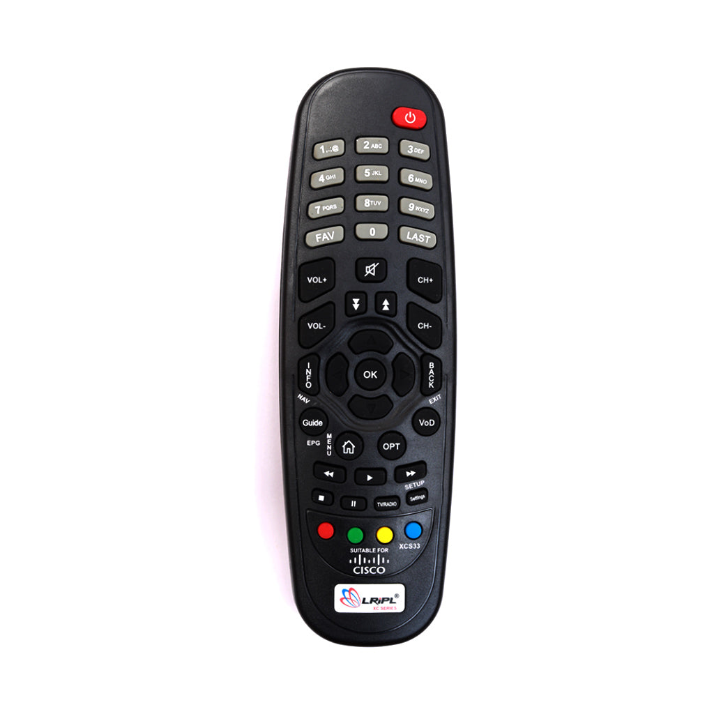 CISCO Set Top Box Replacement  ASIANET  Remote Control Tomson Electronics