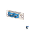 DB CONNECTOR 15PIN FEMALE 2LINE