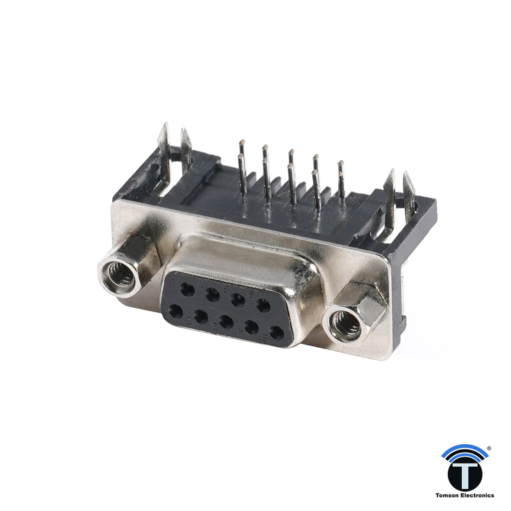 DB Connector 9PIN  Right Angle Female