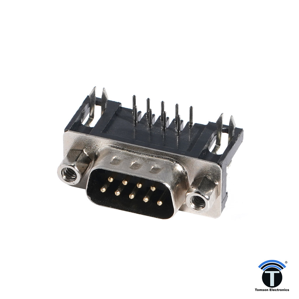 DB Connector 9Pin  Right Angle Male