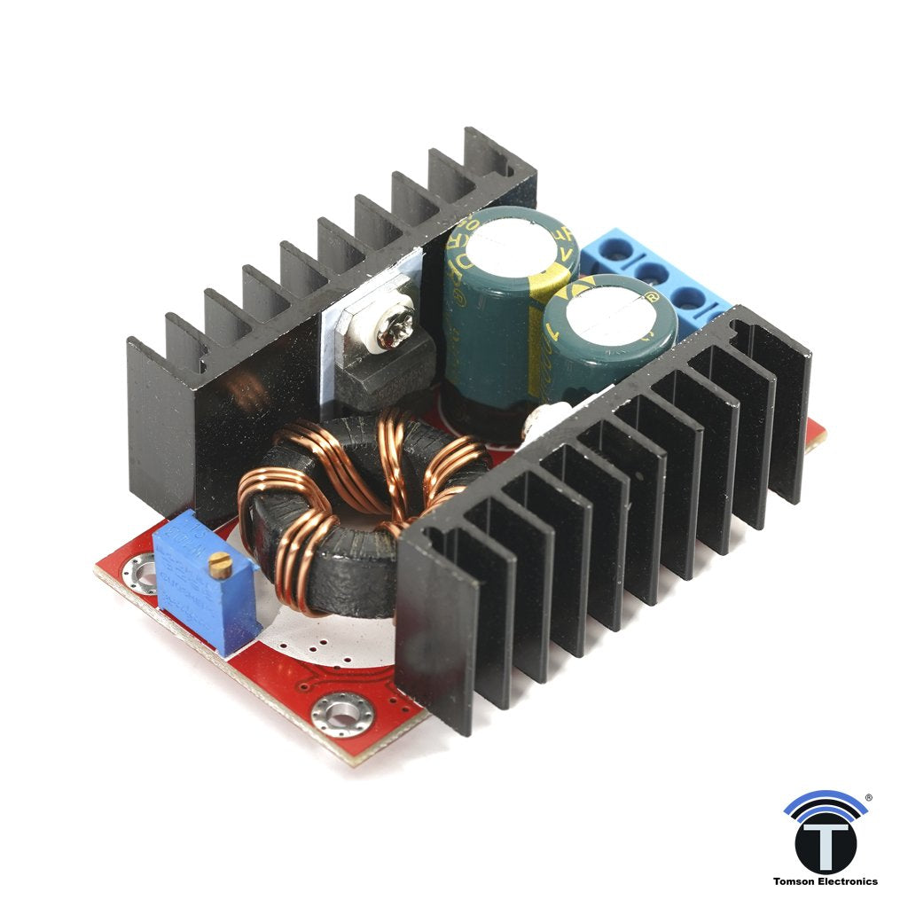 DC-DC Boost Converter 10-32V to 12-35V 6A 150W  Step Up Adjustable Power Supply