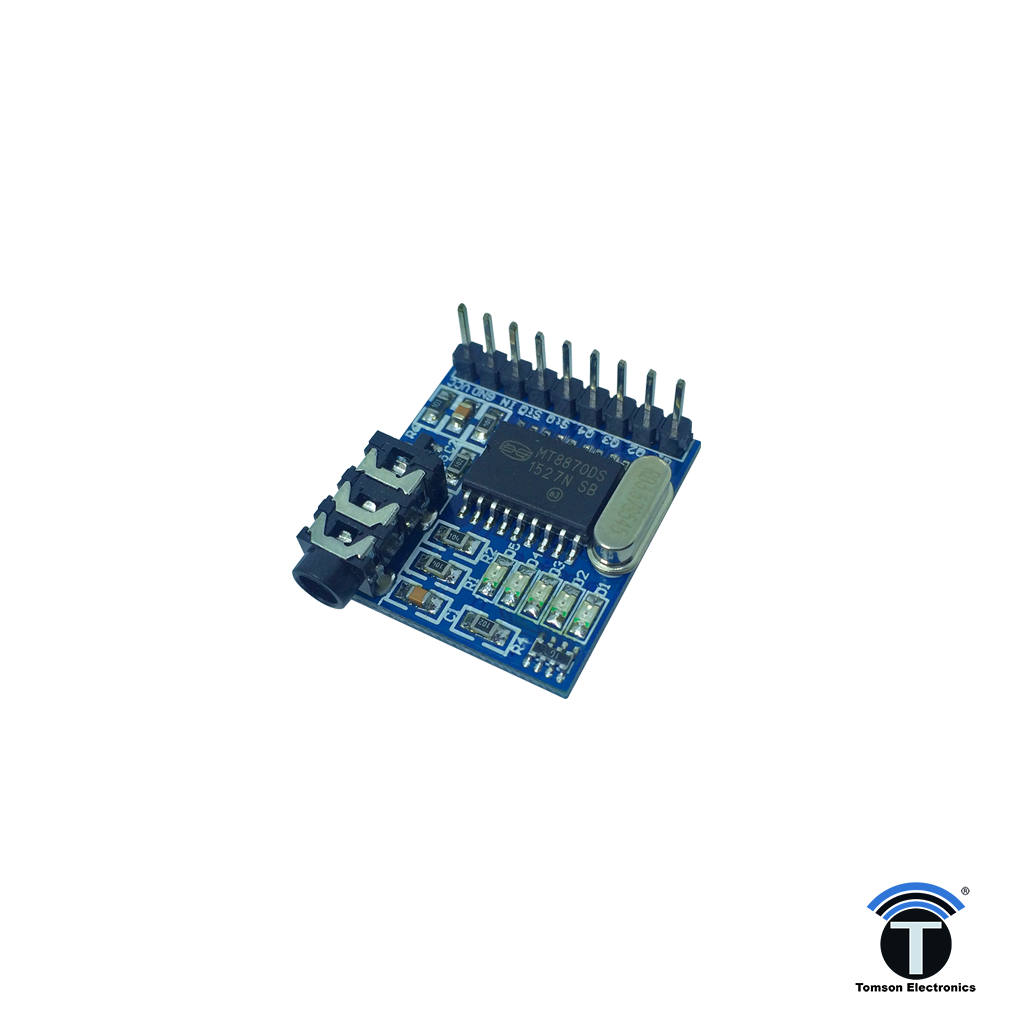 DTMF Decoder module with chip for Arduino