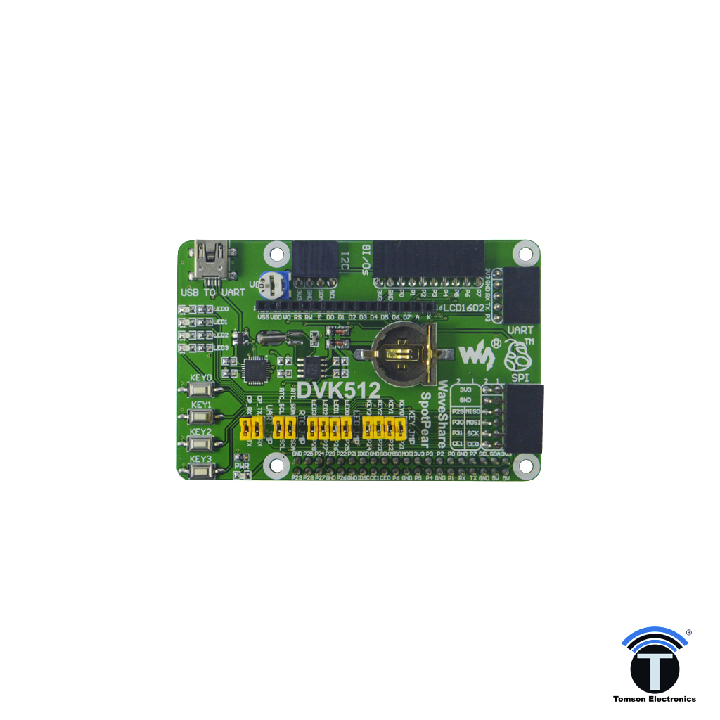 DVK512 - Raspberry Pi Expansion Board