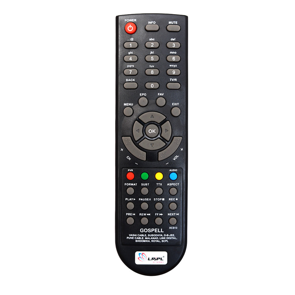 Den HD Set Top Box Replacement Remote Control Tomson Electronics