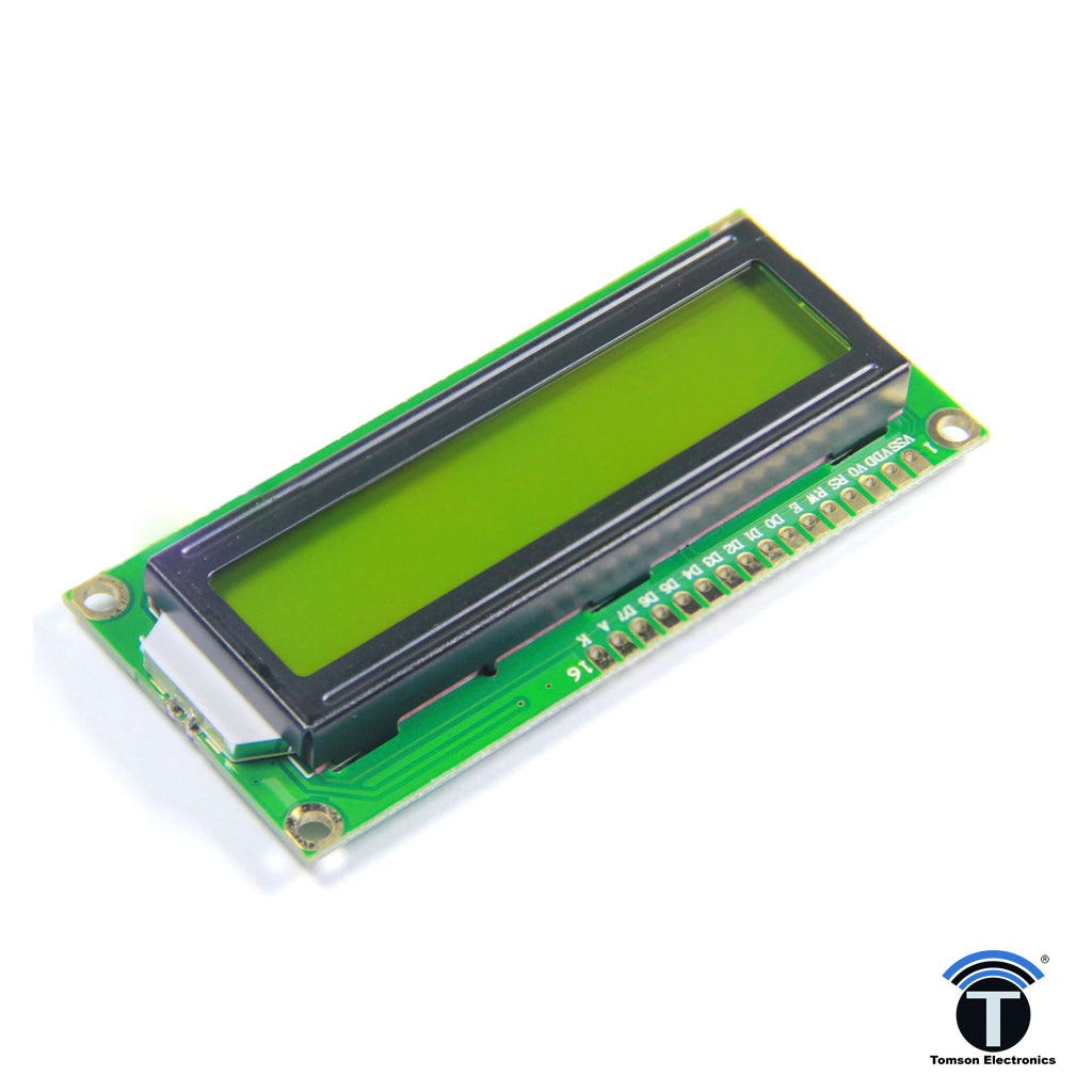 16x1 Lcd Display Hard Gear