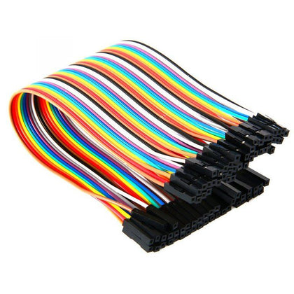 Female to Female Jumper Wires 40 Pcs