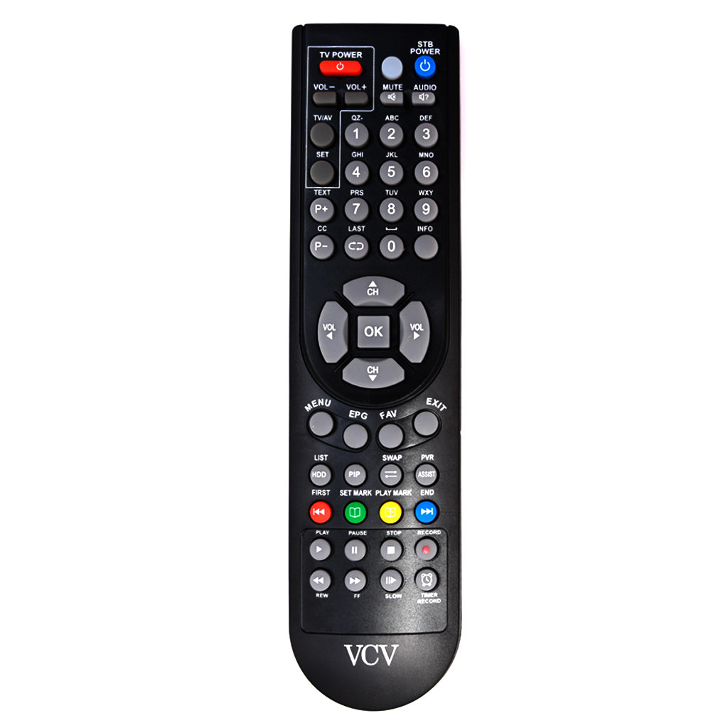 Kerala Vision VCV Network Digital STB Replacement Remote Control  Tomson Electronics