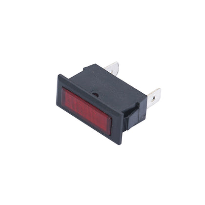 Rectangle Panel Indicator Light 240V AC 6A