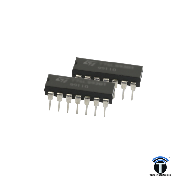 74 LS 08 - quad 2-input AND gate