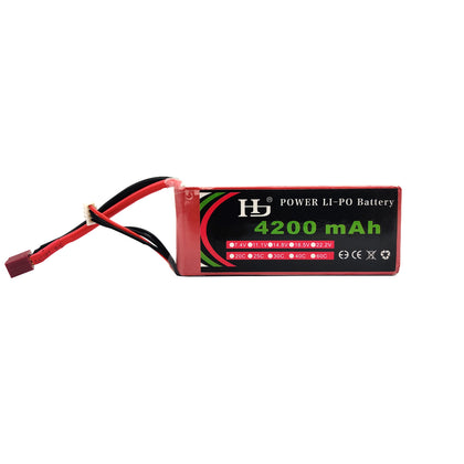 11.1V 4200mAH 3S 25C Lithium Polymer Battery Pack (Lipo) Tomson Electronics