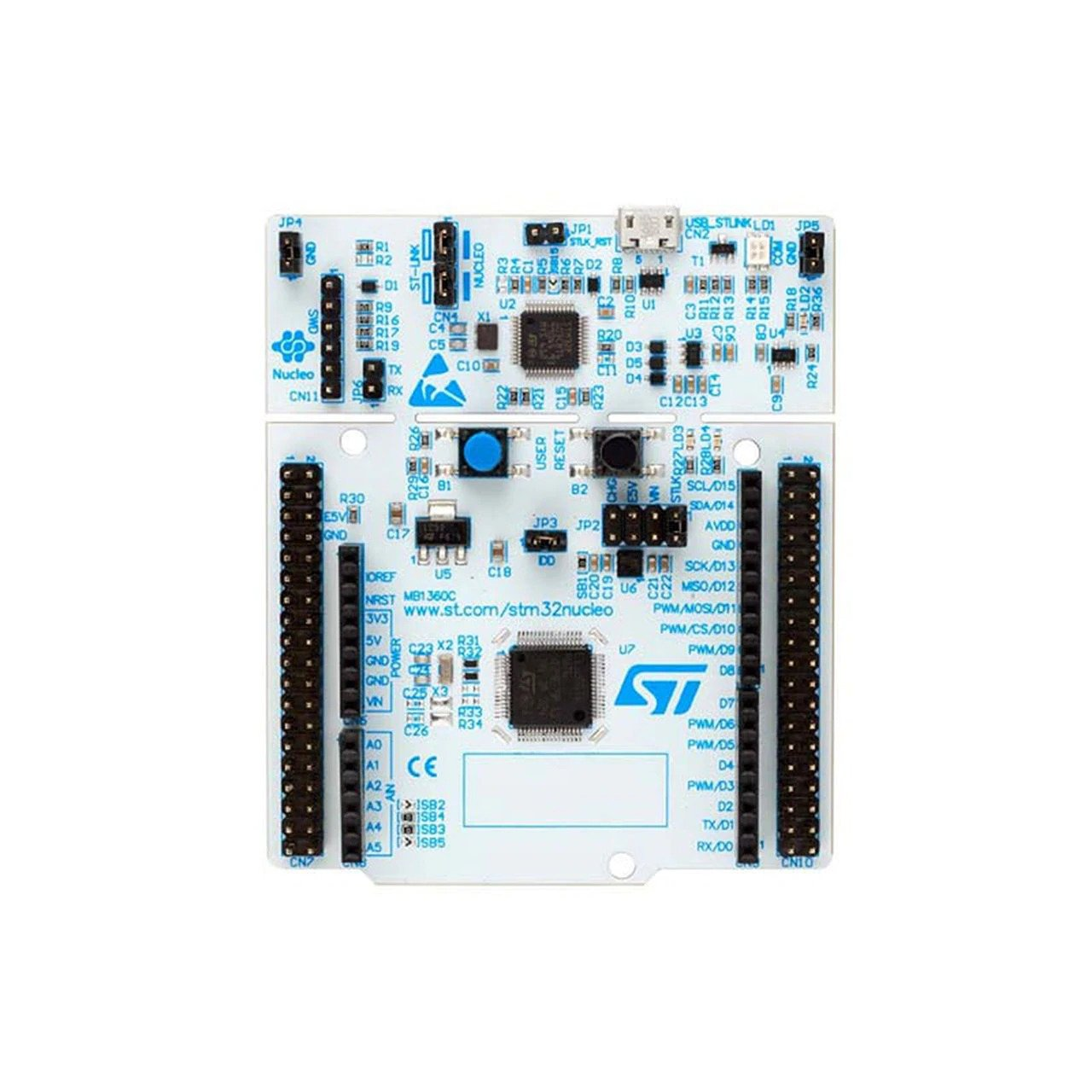 NUCLEO-64 STM32G071RBT6  Development Board Arduino & ST Morpho Connectivity