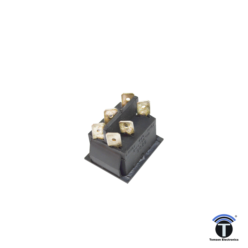 ON-OFF-ON Momentary Switch 6205 - 16 A