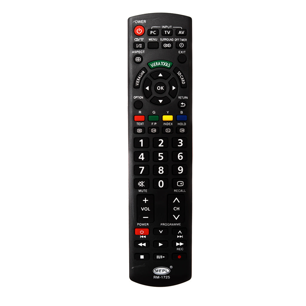 Panasonic LCD  TV Universal Replacement Remote Control Tomson Electronics