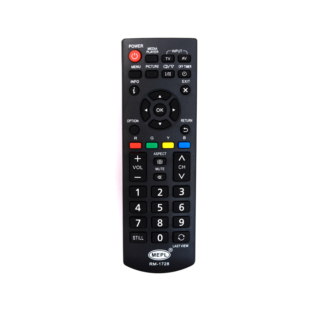 Panasonic LCD TV TH-32E460D  Universal Replacement Remote Control Tomson Electronics