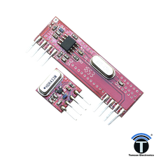 Rf Module Wireless Transmitter & Receiver - 433 Mhz
