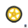 Robotic BO Motor Wheel Yellow  7CM X 2CM