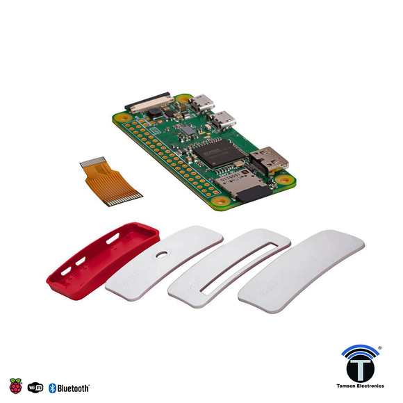 Raspberry Pi Zero W BASIC PACK ( ZERO W AND CASE ENCLOSED IN THE PACK)